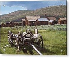 Wagon And Shovel Acrylic Print