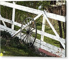 Wagon Wheel Acrylic Print