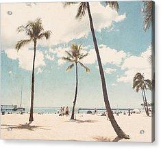 Waikiki Acrylic Print