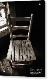 Waiting - Artist Cris Hayes Acrylic Print by Cris Hayes
