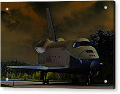 Waiting For Discovery Acrylic Print by Lawrence Ott