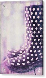 Waiting For The Rain Acrylic Print by Priska Wettstein