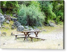 Acrylic Print featuring the photograph Waiting by Gary Rose