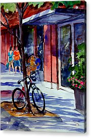 Waiting Acrylic Print by Ron Stephens