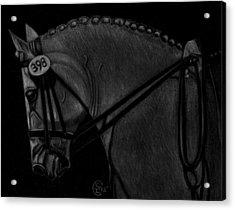 Waiting Acrylic Print by Stephanie L Carr