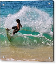 Wakeboarder Acrylic Print