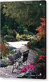 Acrylic Print featuring the photograph Walk In The Park by Steven Clipperton