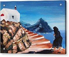 Walk Of Faith Acrylic Print by Therese Alcorn