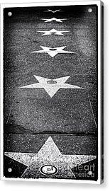 Walk Of Fame Acrylic Print by John Rizzuto