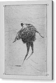 Walking Iv Acrylic Print by Valdas Misevicius