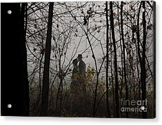 Walking To Church Acrylic Print