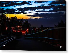 Acrylic Print featuring the photograph Walkway by Matti Ollikainen