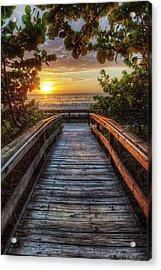 walkway to Paradise Acrylic Print