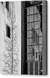 Wall And Windows Metropolitan Museum Nyc Acrylic Print by Robert Ullmann