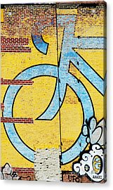 Wall Bike Licensing Art Acrylic Print