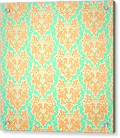 Wall Paper Acrylic Print by Tom Gowanlock