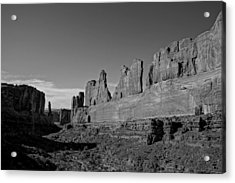 Wall Street Arches National Park Utah Acrylic Print by Scott McGuire