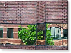 Wall Warp Acrylic Print by Dan Holm