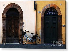 Walled City Of Lucca Acrylic Print by Bob Christopher