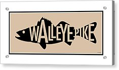 Walleye Pike Acrylic Print
