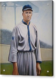 Walter Johnson Acrylic Print by Mark Haley