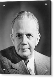 Walter White 1893-1955 Leader Acrylic Print by Everett