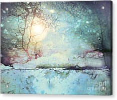 Wandering In The Light Acrylic Print