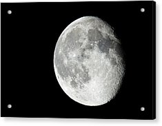 Waning Gibbous Acrylic Print by Adam Pender
