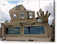 War Armed Vehicle Acrylic Print