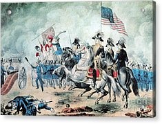 War Of 1812 Battle Of New Orleans 1815 Acrylic Print by Photo Researchers