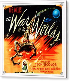 War Of The Worlds, Poster Art, 1953 Acrylic Print by Everett