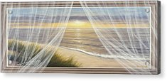 Warm Breeze Panoramic View Acrylic Print