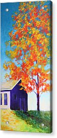 Warm Day In Fall Acrylic Print