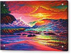 Warm Glow Acrylic Print by Joseph   Ruff