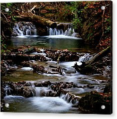 Acrylic Print featuring the photograph Warm Springs by Karen Harrison