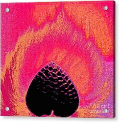 Warming By Your Fire. Acrylic Print by Jozy Me