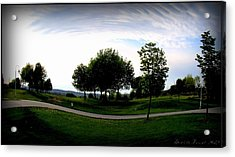 Acrylic Print featuring the photograph Warped  by Danielle  Parent