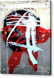 Acrylic Print featuring the photograph Was Here by Newel Hunter