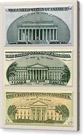 Washington D.c. Landmarks Acrylic Print by Charles Robinson