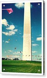 Washington Monument 1982 Acrylic Print by Noah Brooks