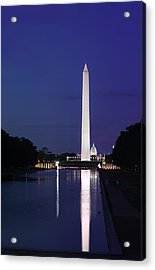 Washington Monument At Sunset Acrylic Print