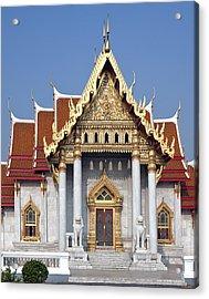 Wat Benchamabophit Ubosot Dthb180 Acrylic Print