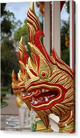 Wat Chalong 3 Acrylic Print by Metro DC Photography