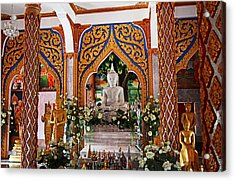 Wat Chalong 4 Acrylic Print by Metro DC Photography
