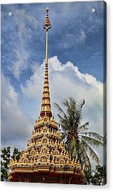 Wat Chalong 5 Acrylic Print by Metro DC Photography