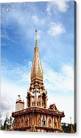 Wat Chalong 6 Acrylic Print by Metro DC Photography
