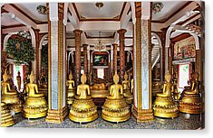 Wat Chalong Acrylic Print by Metro DC Photography