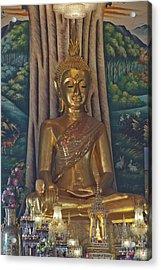 Wat Kaewjamfa Ubosot Principal Buddha Dthb1072 Acrylic Print