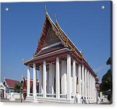 Wat Thewarat Kunchorn Ubosot Dthb1297 Acrylic Print by Gerry Gantt