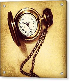 #watches #gold #bronze #steampunk Acrylic Print